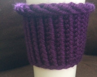 Small travel mug cozy, you will love the comfort!