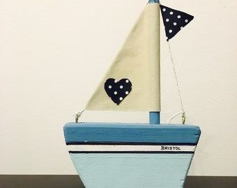 PERSONALISED SAILBOAT