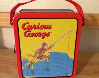 Curious George Tin
