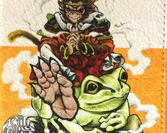 "Smart phone case""ninja monkey&frog""japanese monster iPhone case"