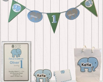 Little Elephant Party Package