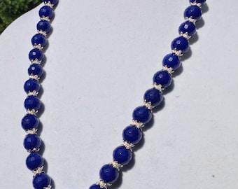 Blue Lapis necklace with pendant