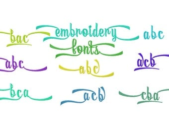Machine embroidery Fonts  designs. Monogram For Embroidery. Embroidery Fonts, Embroidery alphabet  ,  Embroidery Designs. Instant Download.