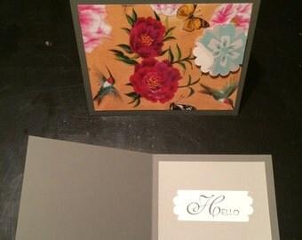 Bohemian Floral, Mix + Match [SINGLE] Card