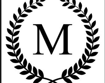 Monogram vinyl