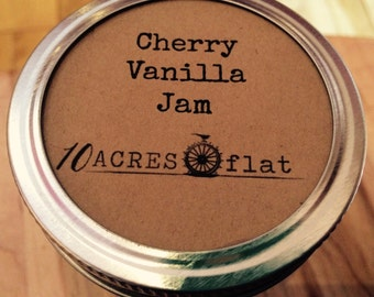 Cherry Vanilla Jam- 8oz.