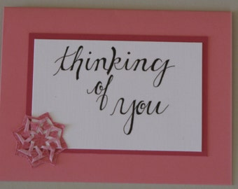 Handwritten Handmade Greeting Cards