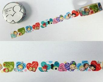 Disney Japan Hearts Tsum Tsum Washi Tape Valentine's
