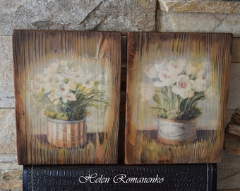 Wall panel-Panel-Vintage-antique-interior panels-wood inlay-wall art-Vintage panel-Multi Panel Art-Wood Anniversary Gift