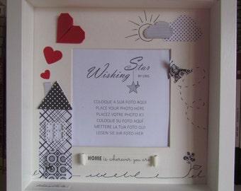 Valentine's Day Shadow box Frame
