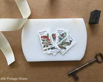 State Bird Stamps | 10 Unused Vintage Postage Stamps | 20 Cents | 1982