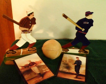 Vintage Base Ball Figures
