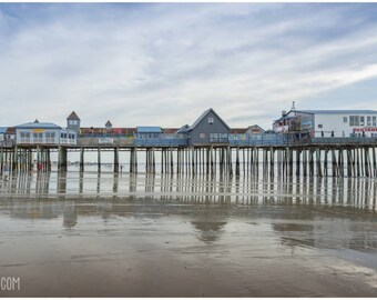 PRINT: Old Orchard Beach Pier, Old Orchard Beach, Maine