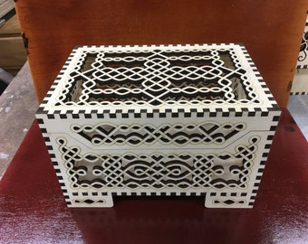 Large Tangled Keepsake box