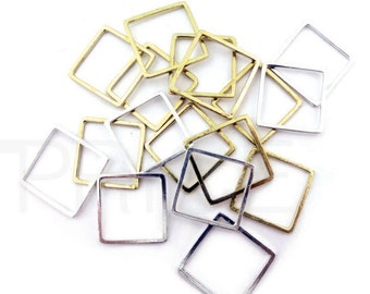 SQUARE Unique Jewelry STACKABLE Midi Ring Mens Womens Gifts Gift