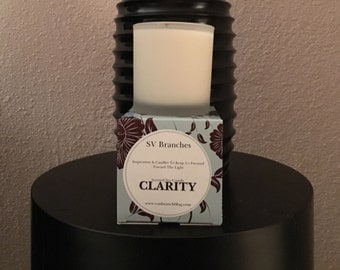 Scented Soy Candle- CLARITY