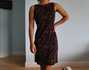 Size small floral print dress