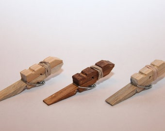 3 Mini Clothespin Shooters