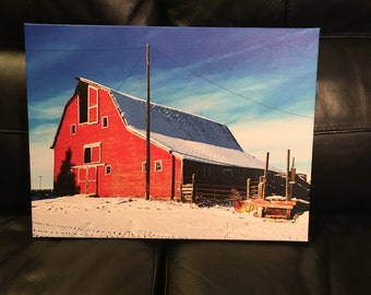 Barnyard Gallery Wrapped Canvas