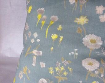 Cushion Nani Iro blue / yellow