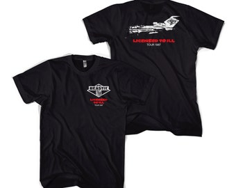 "Beastie Boys ""Licensed to Ill"" Tour Shirt"