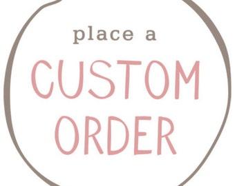Custom Request Bodysuit