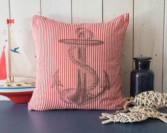 """Decorative pillows """"Anchor"""" (Microfiber pillow case)"""