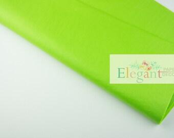 Tissue paper l Bright Lime Tissue paper l diy l gift wrap