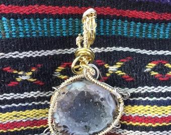 Geode Crystal Pendant