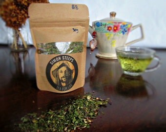 Organic, Liver and Blood Tonic, Herbal Healing Tea, Immune Support, Dandelion Root, Nettle, High Vitamins and Minerals.