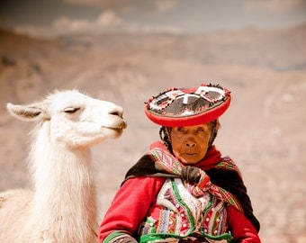 Wanderlust Photography: A Woman and her Llama