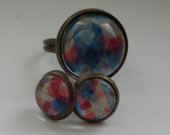 Earring & ring