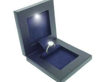 secret - night engagement ring box
