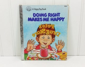 """3 Vintage  """"A Happy Day"""" Books 1980's"""
