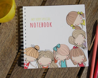 Best Friends Personalised Notebook Gift Idea Various Sizes