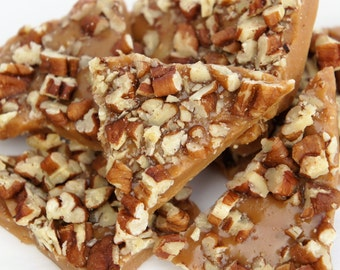 English Toffee covered with Pecans