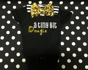 "Newborn/Infant/Toddler, ""Bougie Shirt"""