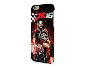 WWE iPhone case all iPhone models 4/4S/5/5S/5C/6/6S/6 PLUS