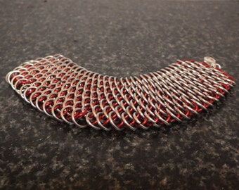 Dragonscale Chain Maille Bracelet