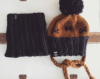 Tuque/neck warmer Kit 2/4 year old boy! 💘