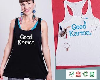 Yoga shirt GOOD KARMA