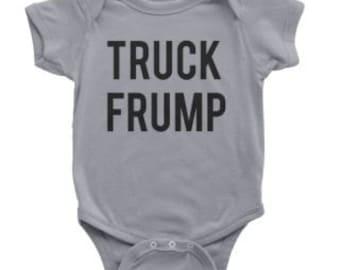 Trump onesie, Anti Trump onesie, trump baby romper, Donald Trump baby gear, Fruck Trump Onesie