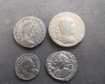 For bronze Roman coins