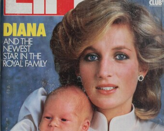 Pricess Diana LIFE Magazine - Dec. 1984