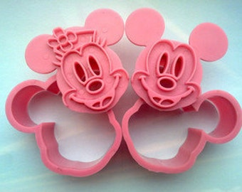 Mickey and Minnie Mouse Cookie Cutter