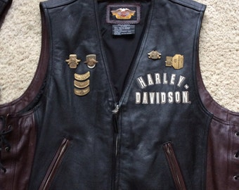 Harley Davidson 95th Anniversary Vest - Men's Size XL