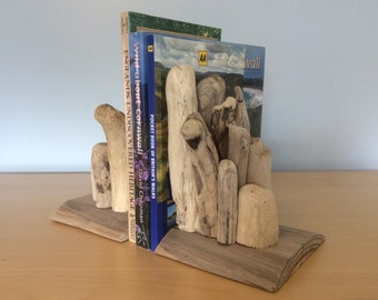Driftwood Bookends