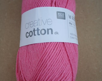 Rico Creative Cotton DK Candy Pink 005