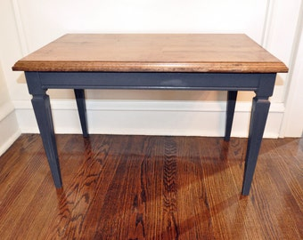 Wood Top Bench