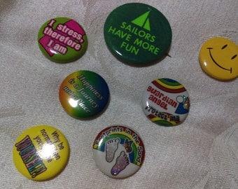 Fun button pins